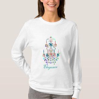ljuskrona- och diamantskjorta tshirts