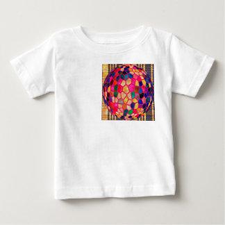 Ljusröd glödande kristallkula för SG Tee Shirt