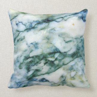 Ljust - blått - göra grön & gråna kudde