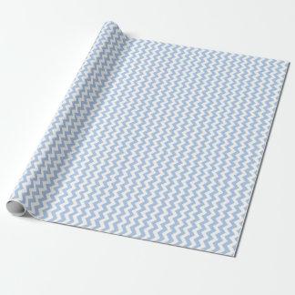 Ljust - blått- och vitsicksack presentpapper