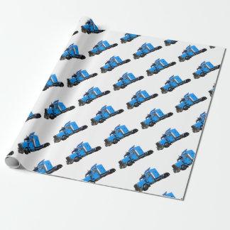 Ljust - blått som den halva lastbilen i tre presentpapper