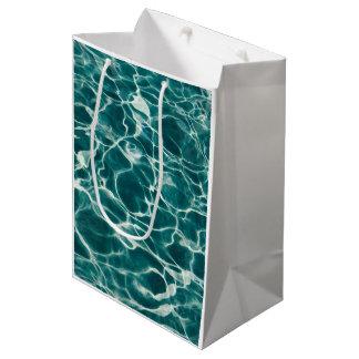 Ljust - blått vågigt sorleldvatten
