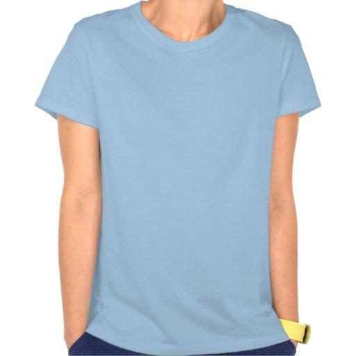 Ljust - blåttkvinna Gigaben T-tröja