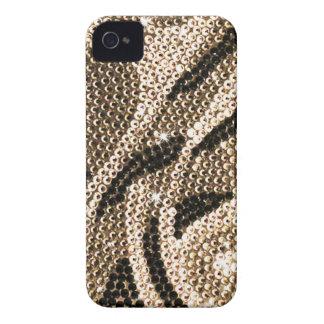 Ljust brunt crystal fodral iPhone 4 Case-Mate skal
