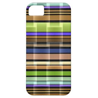Ljust brunt mönster för limefruktlilarandar iPhone 5 hud