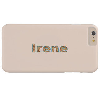 Ljust - brunt plusfodral för iPhone 6 av Irene Barely There iPhone 6 Plus Skal