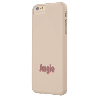 Ljust - brunt plusfodral för iPhone 6 för Angie Barely There iPhone 6 Plus Skal