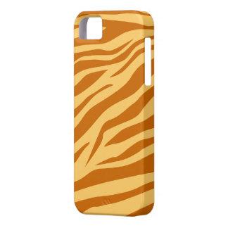 Ljust - brunt/solbränd zebra tryck - fodral för barely there iPhone 5 fodral