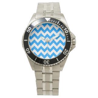 Ljust - djärv sparre för blått armbandsur