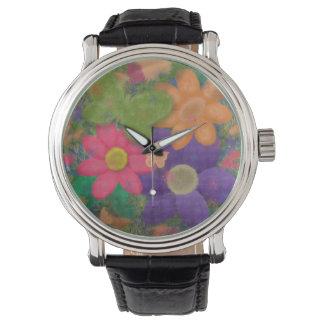 Ljust färgad blom- klocka