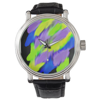 Ljust färgrikt armbandsur
