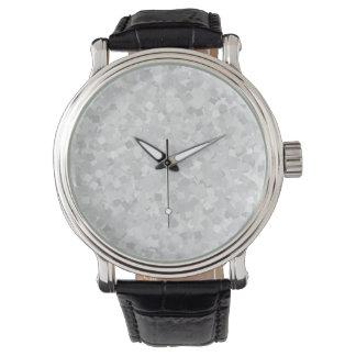 Ljust - grå konfettidesign armbandsur