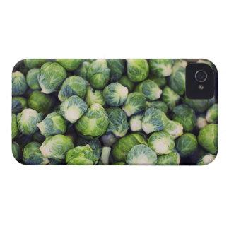Ljust - gröna nya Bryssel groddar iPhone 4 Cases