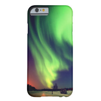 Ljust - grönt alaskabo nordligt ljus barely there iPhone 6 skal