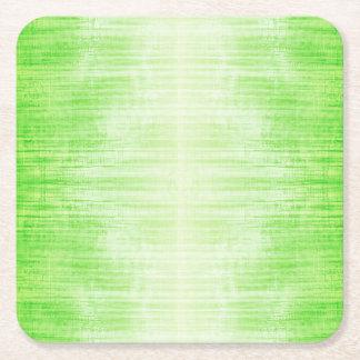Ljust - grönt lutningstrukturmönster underlägg papper kvadrat