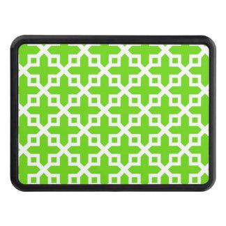 Ljust - grönt tvärsnittmönster skydd för dragkrok