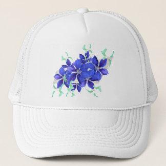 Ljust lila blommorfirandelock - Clematis Keps