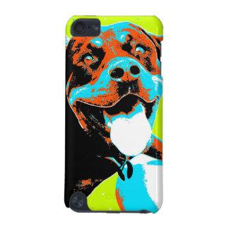 Ljust och roligt Rottweiler porträtt iPod Touch 5G Fodral