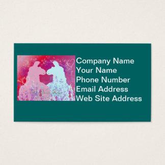 Llama: En Llamavalentin - jag älskar dig Visitkort