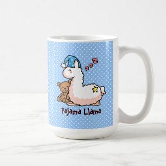 Llama för blåtthattPajama Kaffemugg