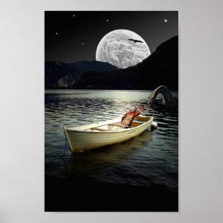 Loch NessCollageaffisch Poster
