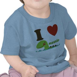 Loch Nessmonster mig skjorta för utslagsplats för T-shirt