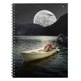 Loch NessMontageanteckningsbok Anteckningsbok