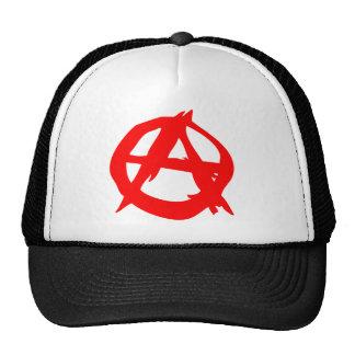 Lock för anarkisymbollastbilsförare keps