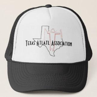 Lock för Texas Atlatl anslutninglastbilsförare Truckerkeps