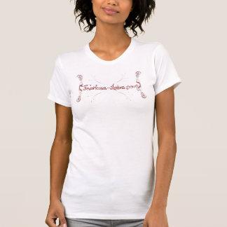 Lockig design - oförskräckta labb tee shirts