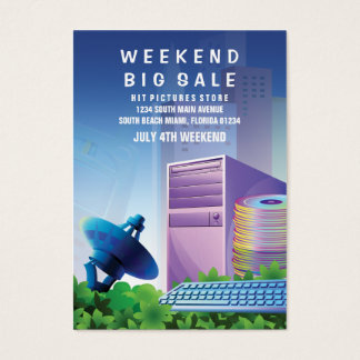 Lodrät för marknadsföring för Sale för Visitkort