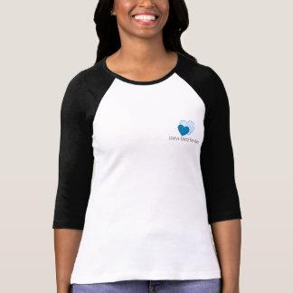 Loeys-Dietz kvinna bästa sleeve för Raglan 3/4 T-shirts