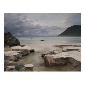Lofoten - Skagsanden strandvykort ingen text Vykort