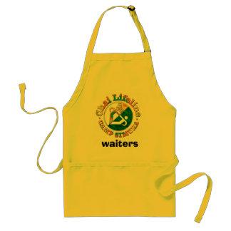 Logo5 servitörer förkläde