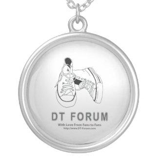 Logotyp för halsbandavskiljare-fora halsband med rund hängsmycke