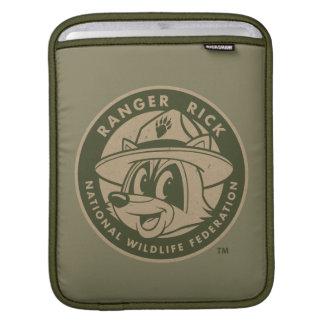 Logotyp för kakier för stack för skogsvaktare för iPad sleeve
