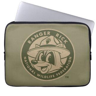 Logotyp för kakier för stack för skogsvaktare för laptop sleeve