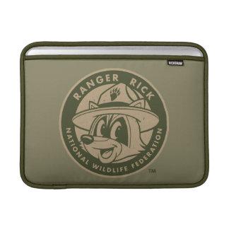Logotyp för kakier för stack för skogsvaktare för MacBook sleeve
