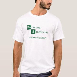 Logotyp för Porkchop smörgåsparodi Tshirts