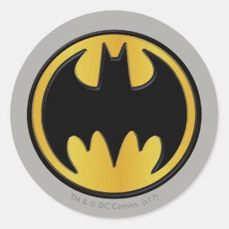 Logotyp för runda för klassiker för runt klistermärke