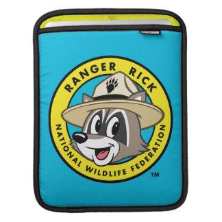 Logotyp för stack för skogsvaktare för sleeve för iPads