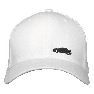 Logotyp för svart för hatt för vit för Subaru Wrx Broderad Keps