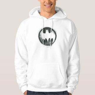 Logotyp för symbol för sprej för uppassaresymbol | sweatshirt med luva