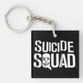 Logotyp för vit för självmordSquad |