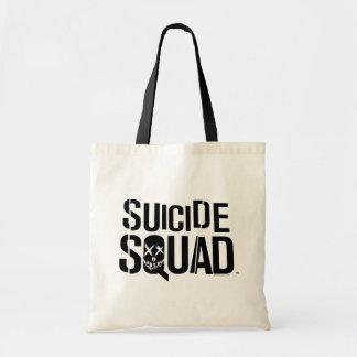 Logotyp för vit för självmordSquad | Tygkasse