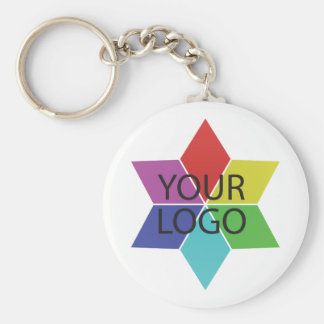 Logotyp Symbol Affär Företag befordran Rund Nyckelring