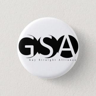 Logotypen för APSU GSA knäppas Mini Knapp Rund 3.2 Cm