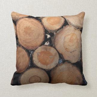 Logs dämpar kudde
