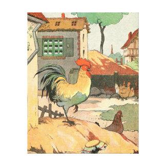 Loire lantbrukarhemtupp canvastryck