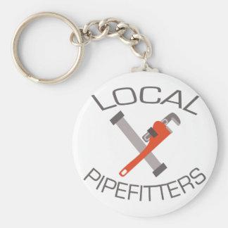 Lokal Pipefitters Rund Nyckelring
